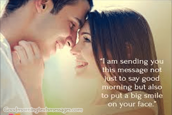 Sexy good morning messages