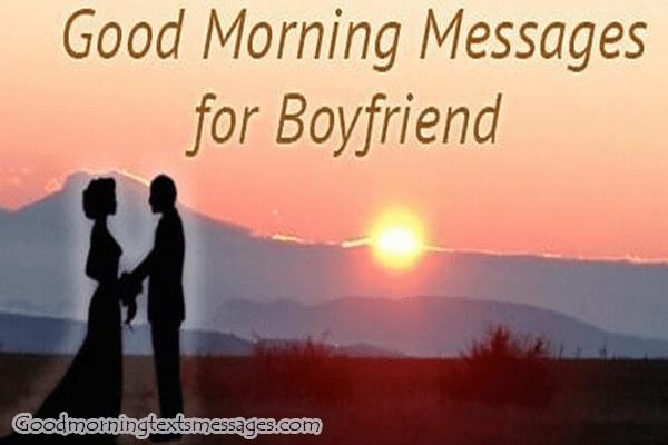 Good MorningBoyfriend