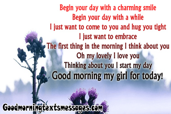 Good morning messages for girlfriend ignores me