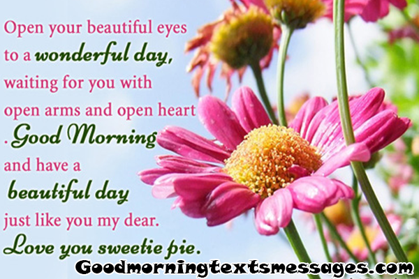 Good Morning Picture Messages For Her