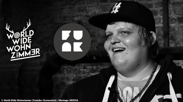 """Der YouTuber """"Exsl95"""" musste im """"Hater-Interview"""" von funk zum Teil auf derbe Beleidigungen reagieren"""