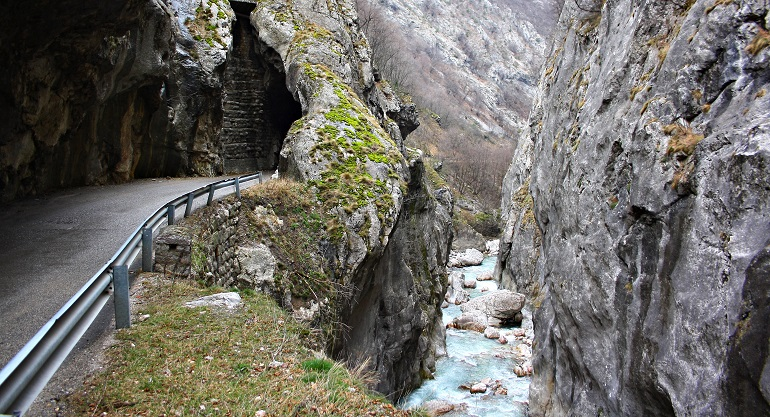 The Rugova Canyon
