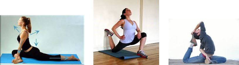 Alternate Stretches Psoas Muscle