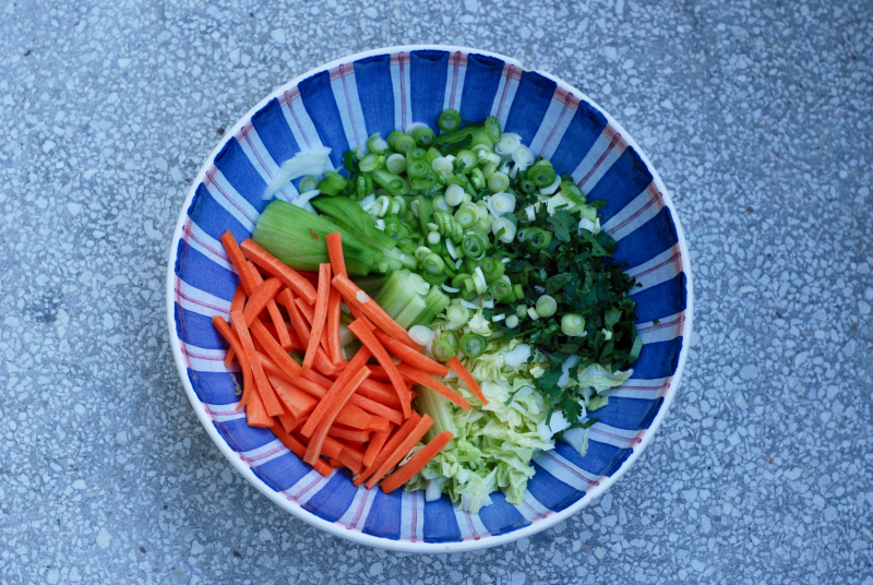 Dinner A Love Story's Asian Slaw