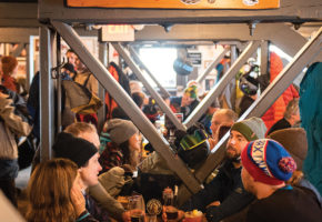 Welcome to Rafters, One of North America's Best Ski Bars