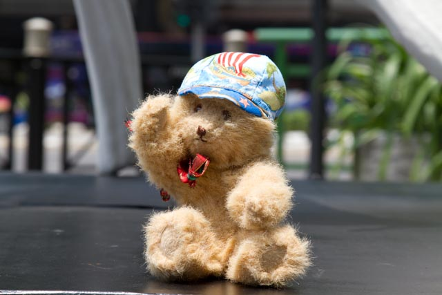 Hamish in Orchard Road, Singapore