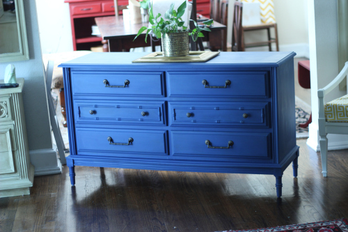 The dresser I purchased kind of looks like this one, only mine is half the size!