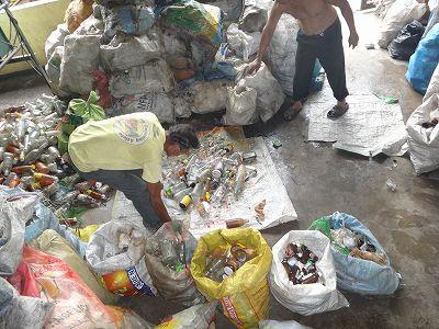 パヤタス瓶リサイクル