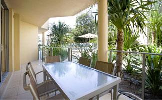 2 Bdrm Resort - Balcony with Resort View