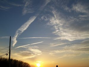 Geoengineering involves manipulating aerosols within the stratosphere