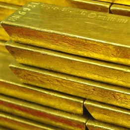 Bars of gold. Many unsuspecting businesspeople in East Africa have