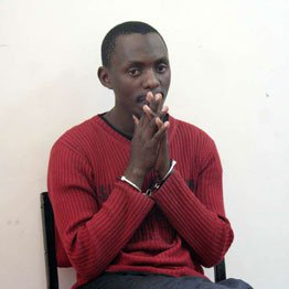 Elgiva Bwire alias Mohammed Seif appears in court in 2011. He was