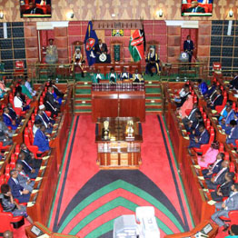 President Uhuru Kenyatta delivering his State of the Nation address