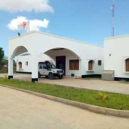 The new Hindi Rehabilitation Centre in Lamu County which was built