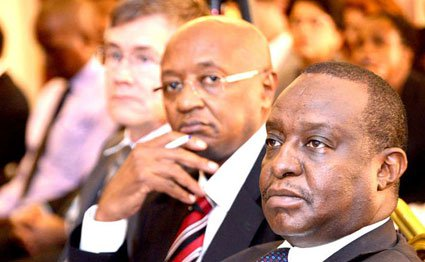 Treasury Cabinet Secretary Henry Rotich and