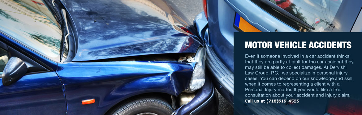 New York Motor Vehicle Accident Attorney - Dervishi Law Group, P.C.