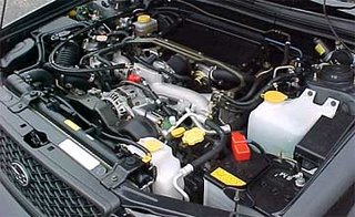 Forester GT EJ205 Engine
