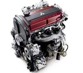 The legendary Evo 4G63 2L turbo engine