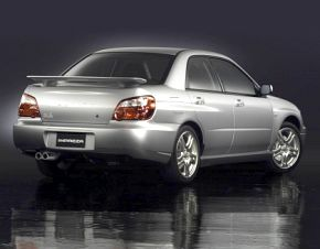 MY03 WRX Sedan rear