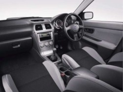 MY06 WRX Interior