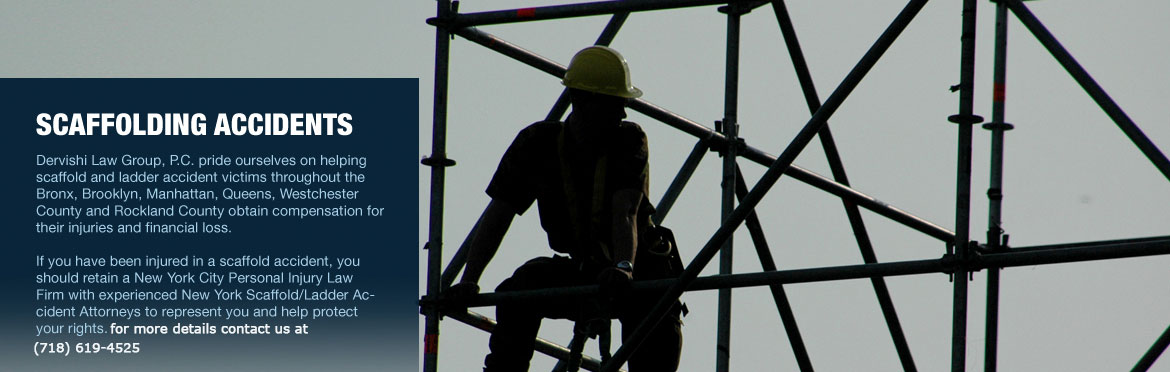 Scaffolding Accidents Attorney Bronx NY