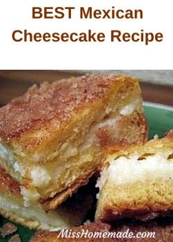 The most addicting Mexican cheesecake #misshomemade | Thousands of recipes at MissHomemade.com