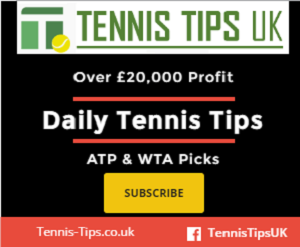 Top rated tennis tipster