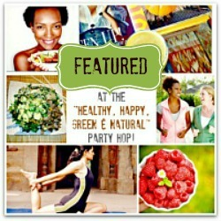 It's Party Time at the Healthy Happy Green and Natural Party Blog Hop #154