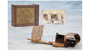Chase's Improved Folding Stereoscope