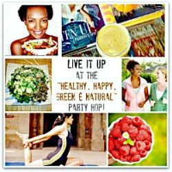 It's Party Time at the Healthy Happy Green and Natural Party Blog Hop #157