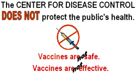 CDC does not protect the public 4