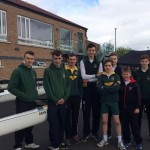 PBC junior boys at 2017 Portadown Boat Club Regatta