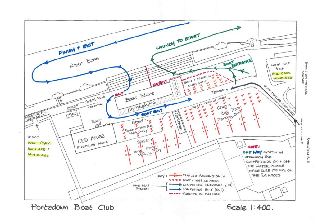 EVENT PLAN LAYOUT - PBC REGATTA