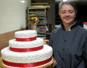 Cake by Natalie Jeffries, Fisher's Tudor House Cake designer and decorator