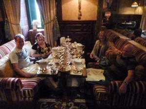 High Tea at the Marriott Hotel in Cairo