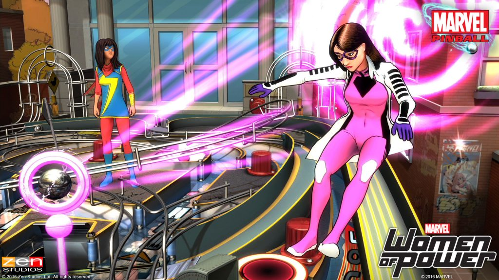 Marvel's Women of Power Pinball Pack Review - 2