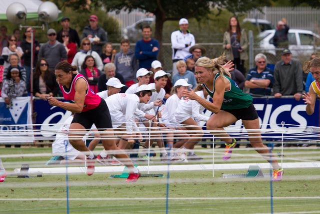 Second Semi of the Womens Gift on Easter Monday 2013