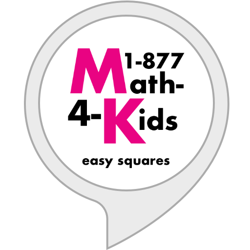1-877-MATH-FOR-KIDS: Easy Squares