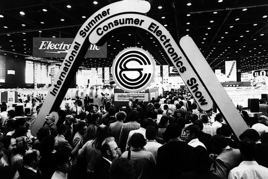 consumer electronics show CES photo collection from 1967 until now