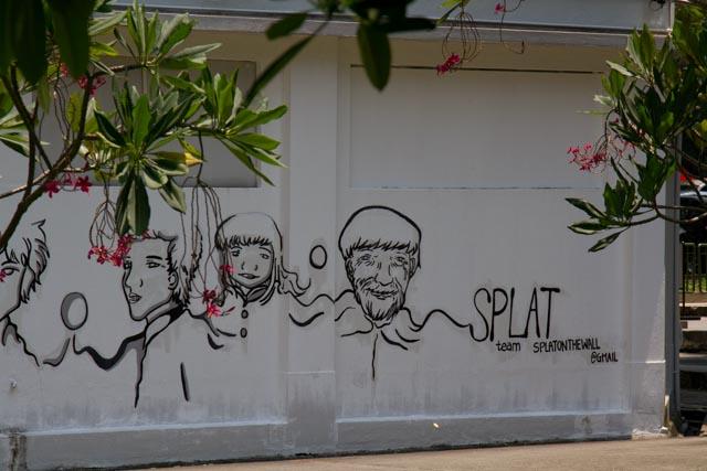Graffiti Art in Singapore