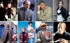 TV detectives (clockwise from top left): Cagney & Lacey, Sipowicz, Columbom Sarah Lund, Vic Mackay, Poirot, Starsky & Hutch and Morse