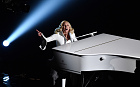 Singer-songwriter Lady Gaga performs onstage during the 88th Annual Academy Awards at the Dolby Theatre  in Hollywood, California