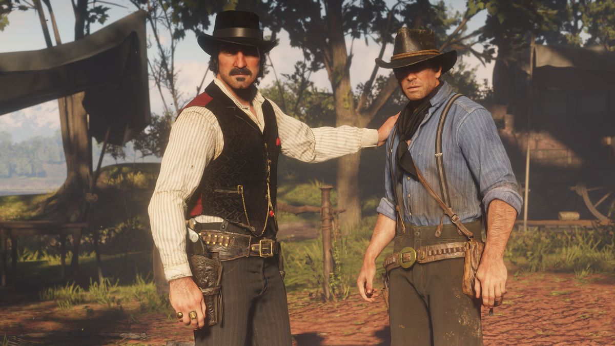 Red Dead Redemption 2: Arthur and Dutch