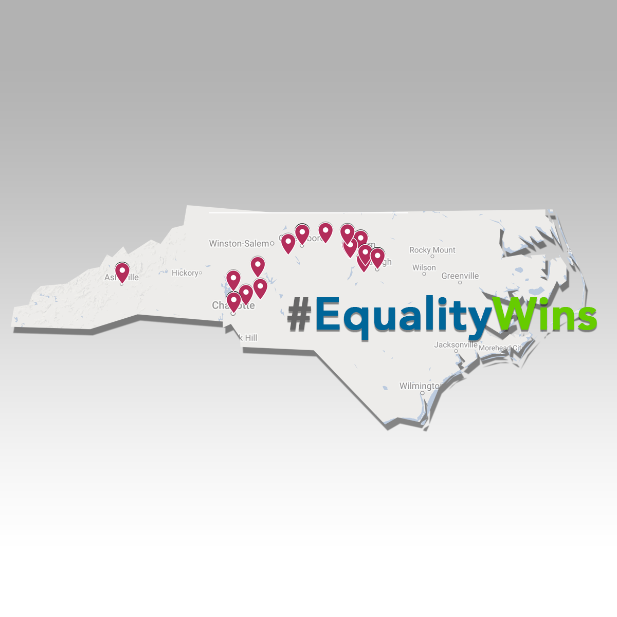 Pro-Equality Candidates Win Municipal Races Across North Carolina