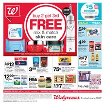 Walgreens This Week's Ad front page