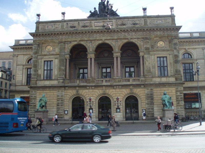 The Royal Danish Theater in Copenhagen, home of the Royal Ballet and Royal Opera.