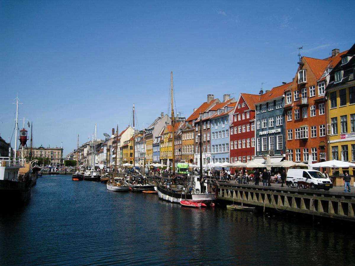 The Nyhavn area of Copenhagen was home to fairy-tale writer Hans Christian Andersen. He occupied three different dwellings along this scenic canal at different times in his life. Many of these picturesque structures have been converted into cafes and restaurants.