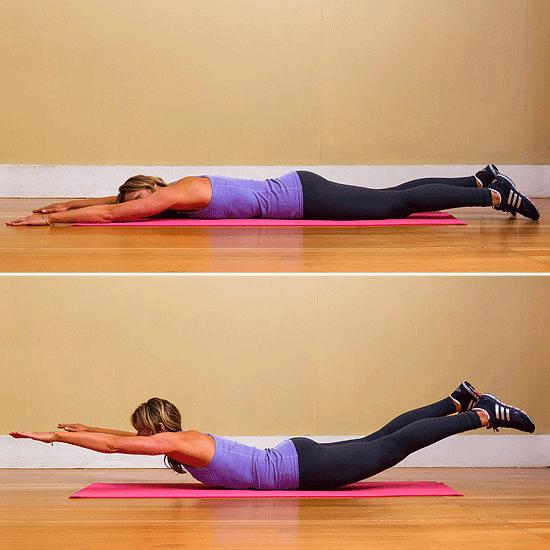 Упражнения для спины. Прогибы назад