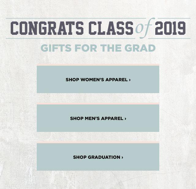 Congrats Class of 2019.