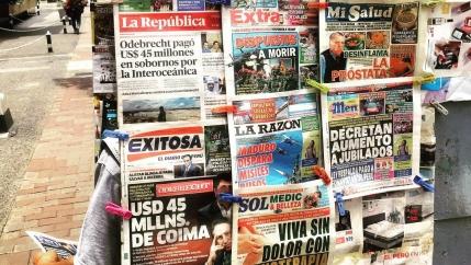 newspapers in peru